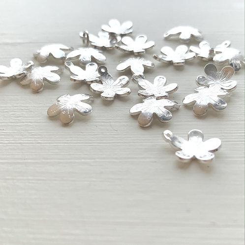 Blossom Petal pendant on Chain