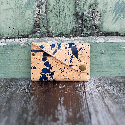 Blue Ink SPLASH Leather Wallet