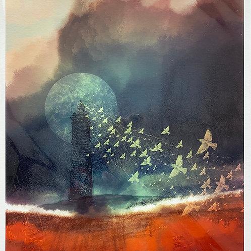 'Rise Up' Print by Keri Valentine