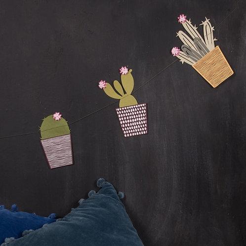 Cactus Paper Bunting