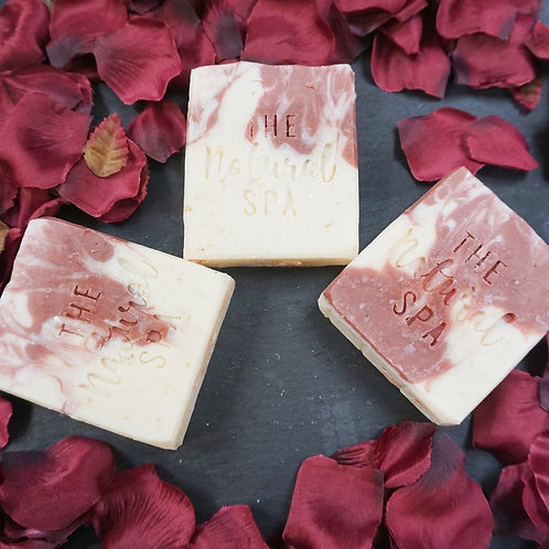 Wildflower Bar and Soap on a rope. (Vegan)