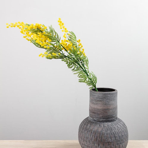 Yellow Mimosa Spray- Artificial Flowers