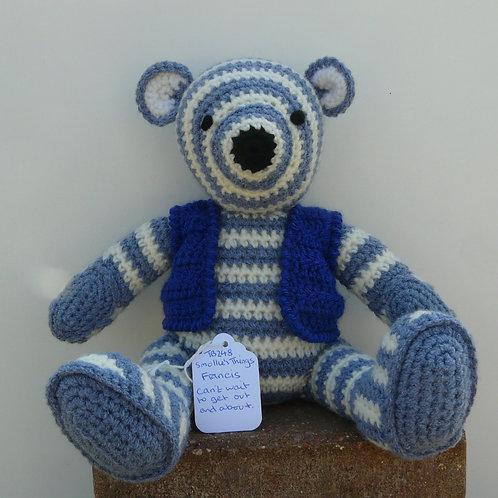 'Francis'  Amagurumi Crochet Bear