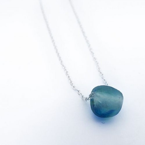Recycled Glass Ball Pendant