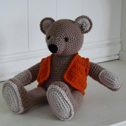 'Arthur' Crochet Amigurumi Bear