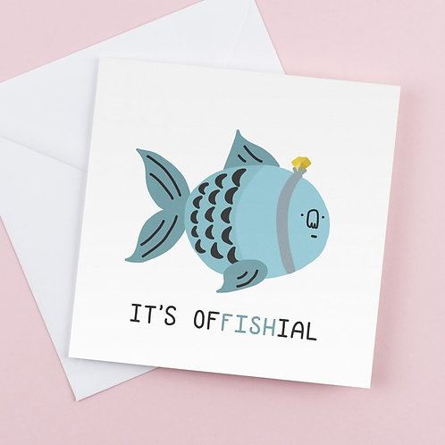'It's offishial'
