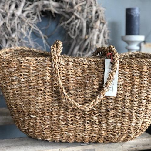 Jute Shopper- Storage Basket