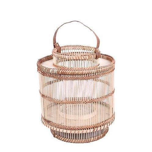 Bamboo Lantern in Natural or White