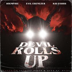 DEVIL ROLLS UP - COVER