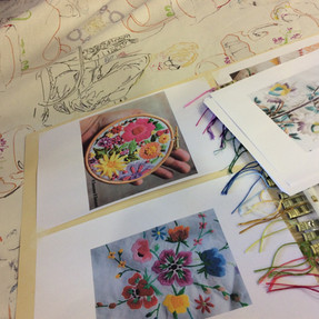 TEXTILE GROUP - In Stitches
