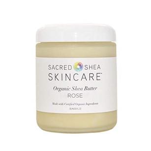 8oz Rose Organic Shea Butter