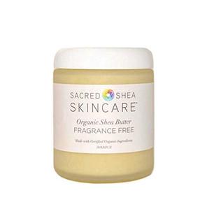8oz Fragrance Free Organic Shea Butter