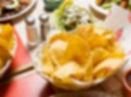 Tortilla Chips in Basket