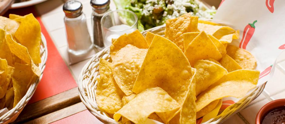 Avocado-Crème mit Tortilla-Chips