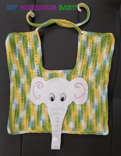 Babete Elefante Chucha