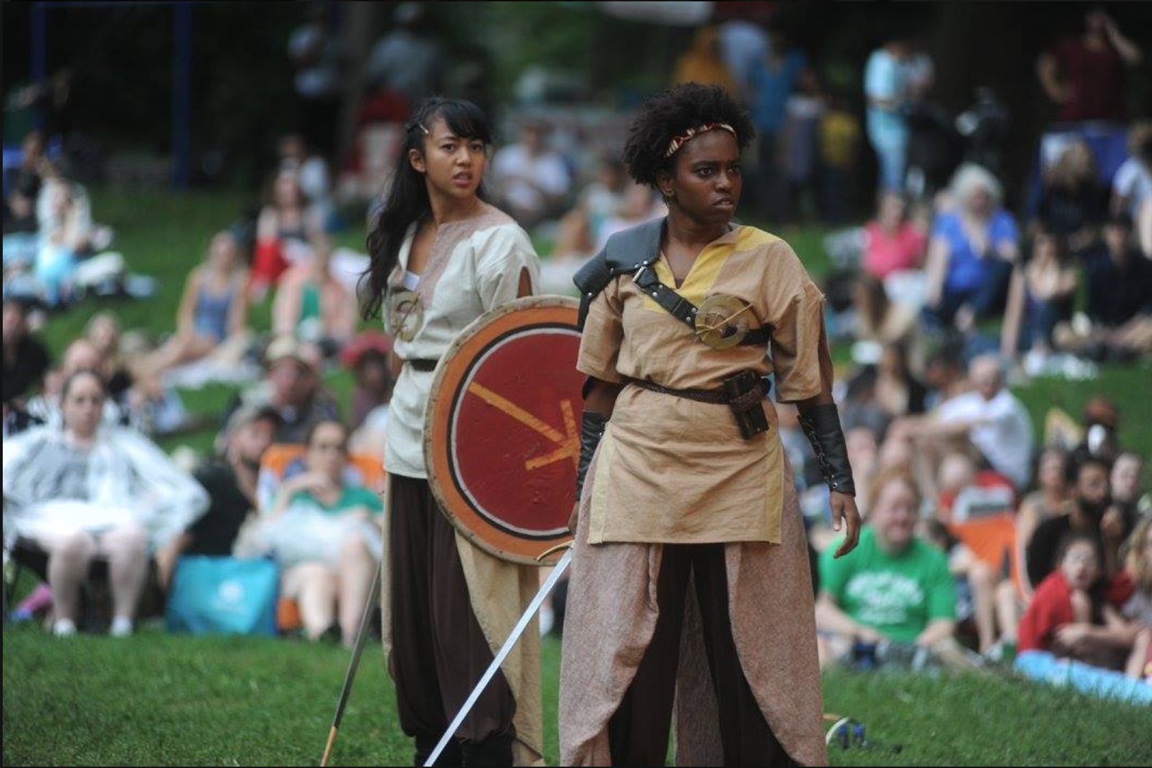Shakespeare in Clark Park:Coriolanus