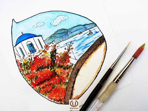 Santorini in a nutshell