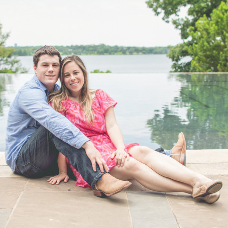 Proposal at the Dallas Arboretum and Botanical Garden: Carly + Jordan