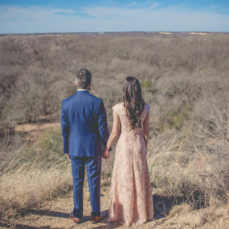 Engagement at Fort Worth Nature Center & Refuge: Meshaal + Azhar