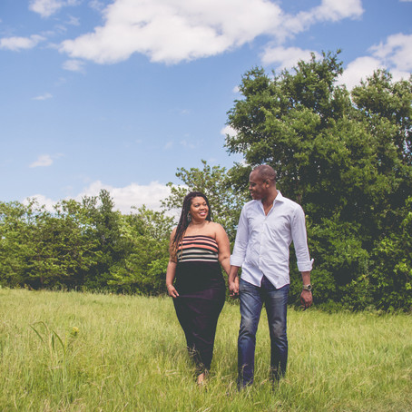 Engagement at the Arbor Hills Nature Preserve: Shalaina + Olalekan