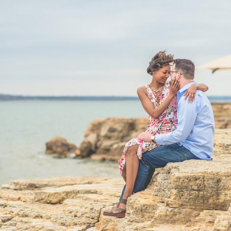 Engagement at Rockledge Park: Shameka + Brandon