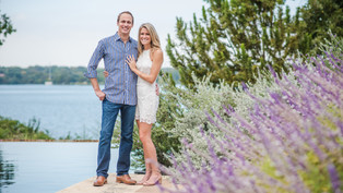 Engagement at the Dallas Arboretum and Botanical Garden: Kjersten + Josh