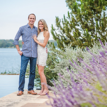 Engagement at the Dallas Arboretum and Botanical Garden: Kjersten + Josh