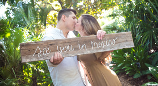 Engagement at the Dallas Arboretum and Botanical Garden: Kelsey + Nick
