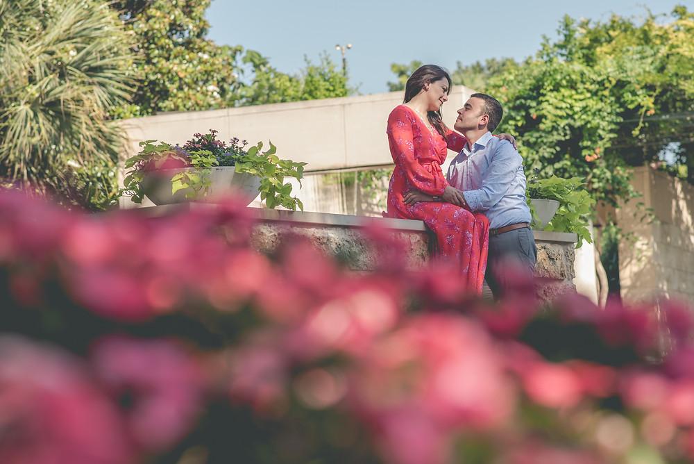 Dallas Arboretum Engagement Photography Dallas Wedding Photographer