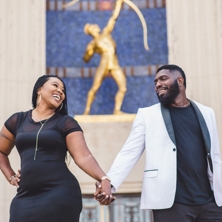 Engagement at Fair Park: Hope + Charles