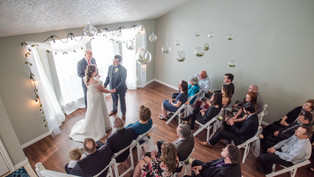 Wedding at Private Residence: Heather + Jesse