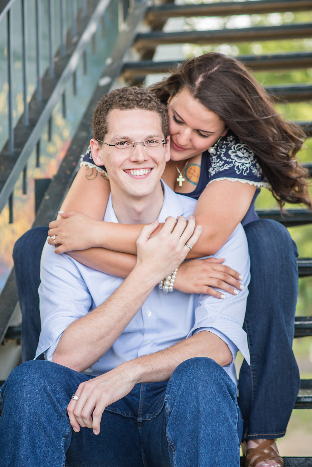 Engagement Session at Katy Trail Dallas