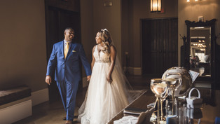 Wedding at Aristide Mansfield: Janeisha + Therral