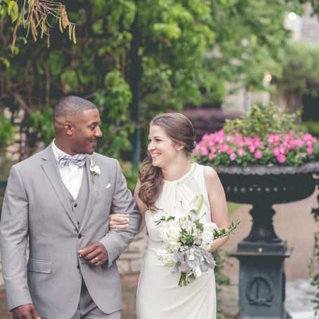 Wedding at Fort Worth Botanical Gardens: Kelsey + Kenneth