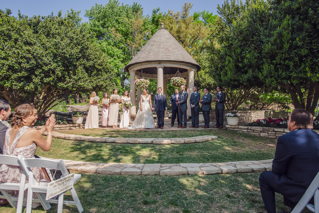 Wedding Photographer Dallas Fort Worth Botanical Gardens