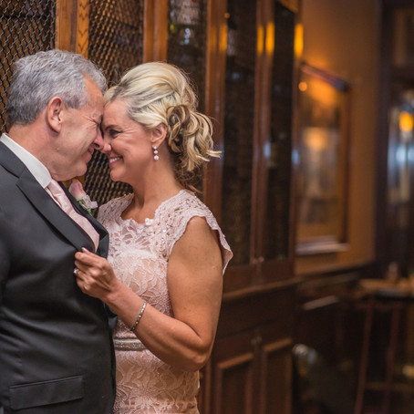 Maggiano's Plano Elopement: Beverly + Keven