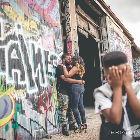 Engagement in Downtown Dallas: Keona + Russell