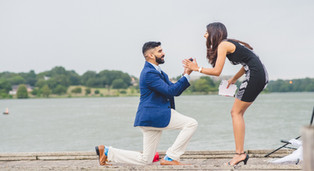 Proposal at White Rock Lake: Jinu + Niya