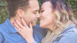 Engagement at Dallas Arboretum: Jordan + Devon