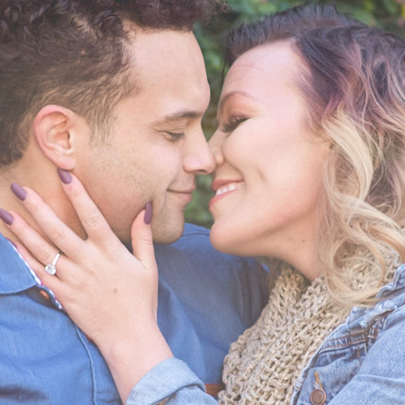 Engagement at Dallas Arboretum: Jordan + Devon