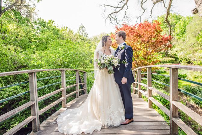 Wedding Photographer Dallas Fort Worth Botanical Gardens