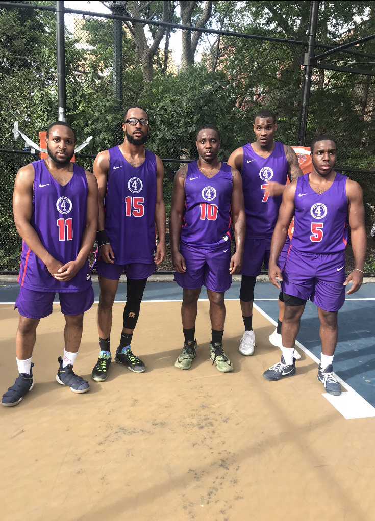 Jamaal, Chaz, Tony, Kenan, & Malik Brooklyn Ballers Pro-Am Team