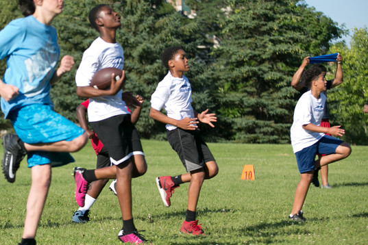 BLF Minneapolis Youth Football Camp '19