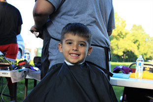 Bay Laurel Backpack/Haircut Giveback