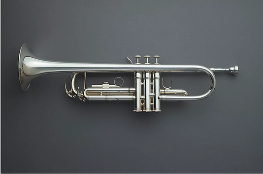 picking out a trumpet