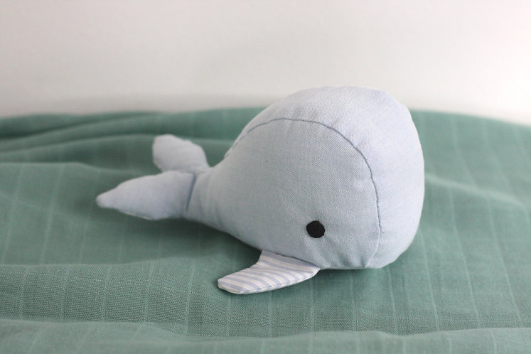 "Mini-Kuscheltier-Wal ""Alex"""