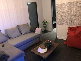 Chambre convertible du Gîte Amélie des Vosges
