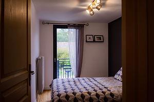 """Chambre """"Martine"""" du Gîte Amélie des Vosges"""