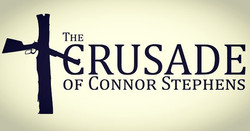 More upcoming work_ To be announced any day now ... THE CRUSADE OF CONNOR STEPHENS making it's way b