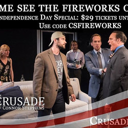 NYC friends & family -- get your limited $29 discounted Tickets to THE CRUSADE OF CONNOR STEPHENS be